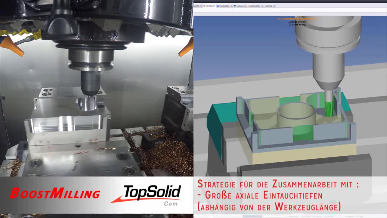 TopSolid - Boost Milling