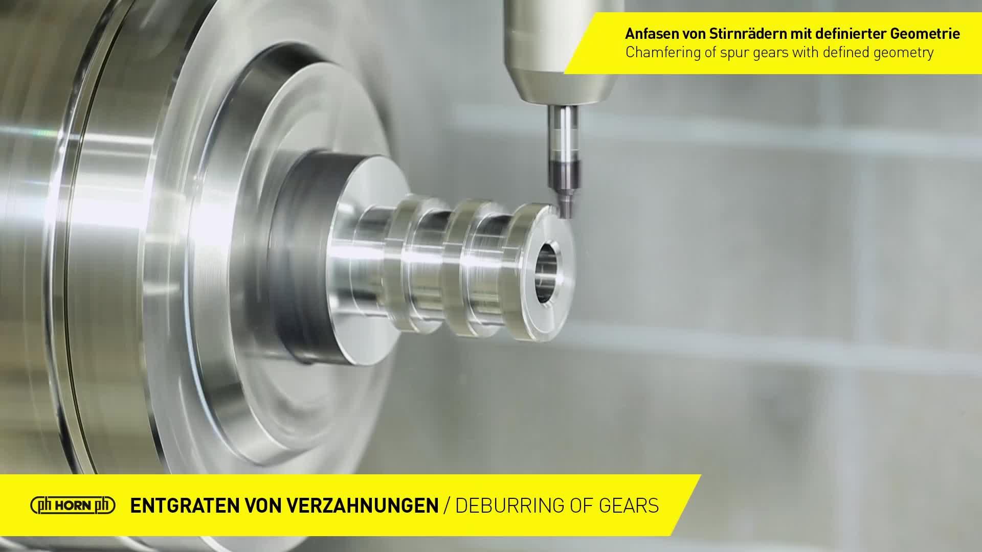 Deburring of gears