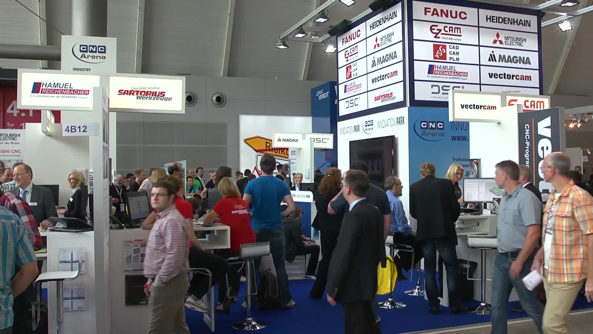 CNC-Arena auf der AMB 2014