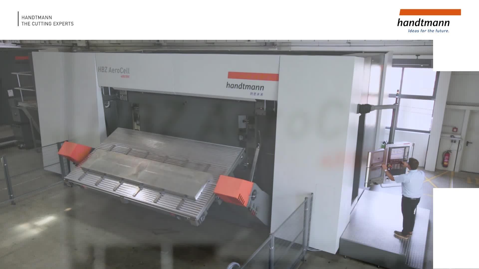 Handtmann Apunkt HBZ AeroCell HSC horizontal machining centre