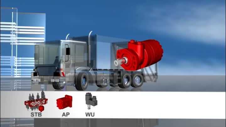 Hydraulic applications for municipal equipment