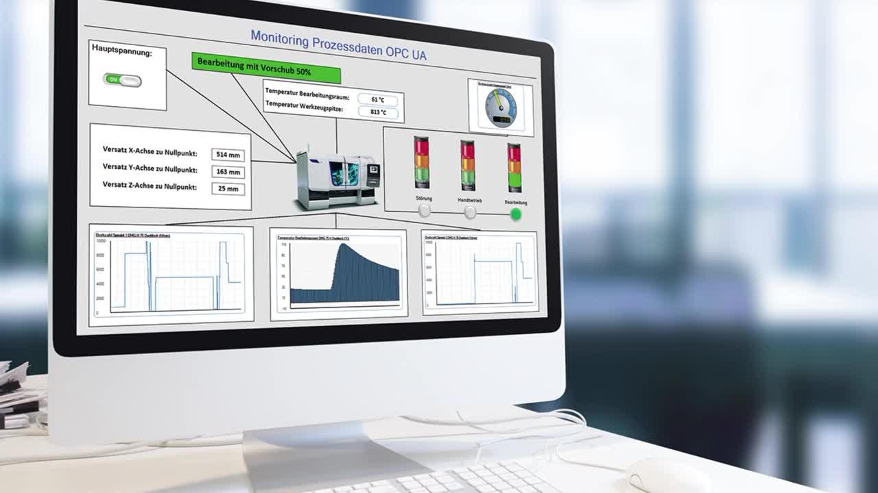 Das intelligente Werkzeug für die Instandhaltung - Prozessdaten-Modul