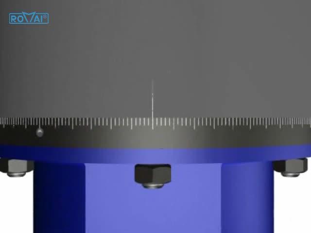 Montageanleitung: Montage Stoppblock – Ausrichtung Antriebskegel