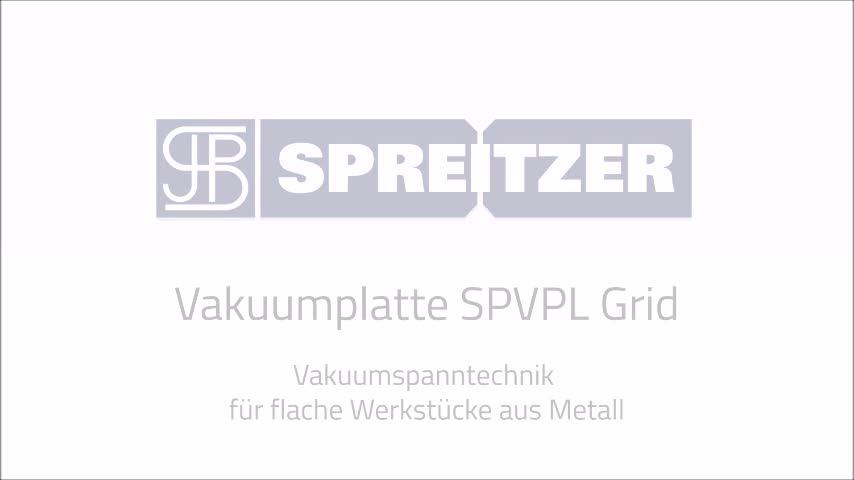 Vakuumplatte SPVPL Grid