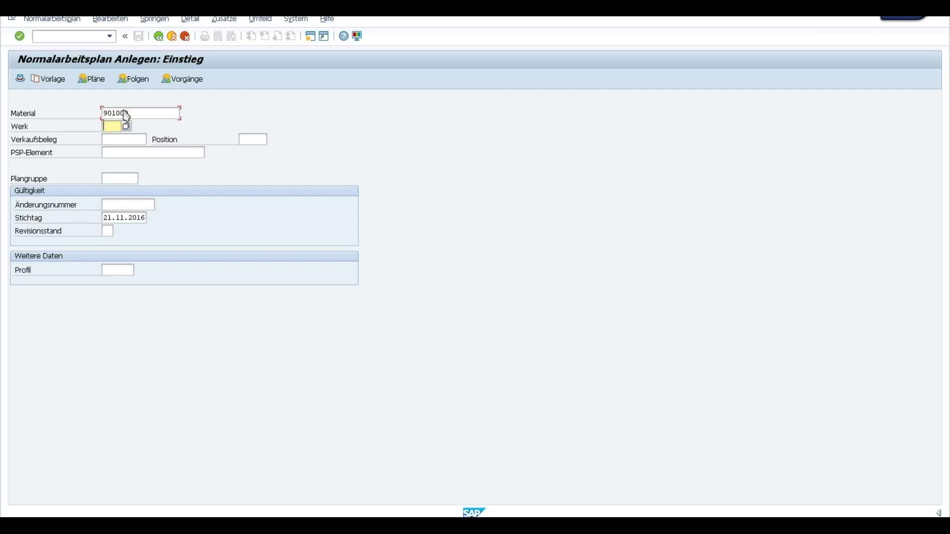 SAP-integrierte Ermittlung von Vorgabezeiten