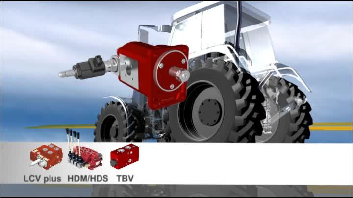 Hydraulikanwendungen für Landtechnik