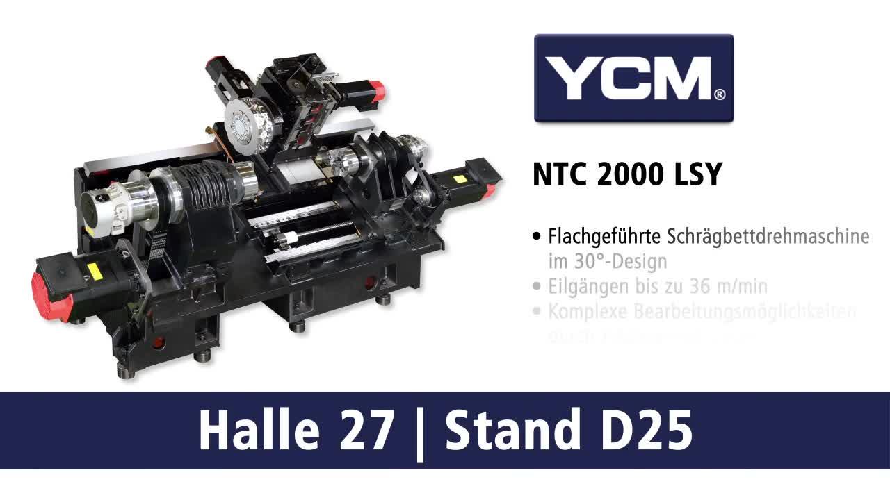 YCM NTC 2000 LSY – CNC-Präzisions-Drehmaschinen