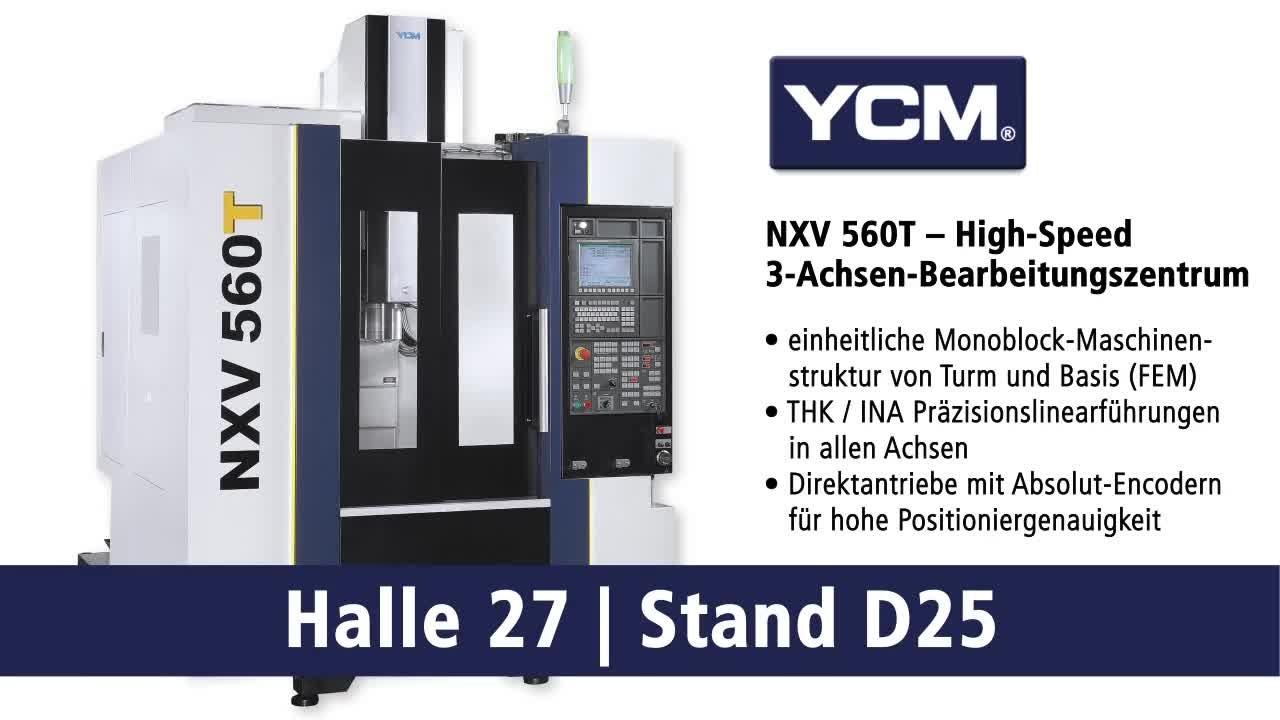 YCM NXV560T – Horizontal-Bearbeitungszentren
