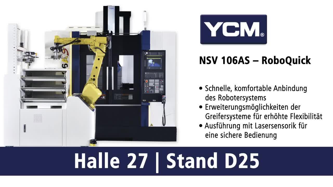 YCM NSV 106AS – RoboQuick