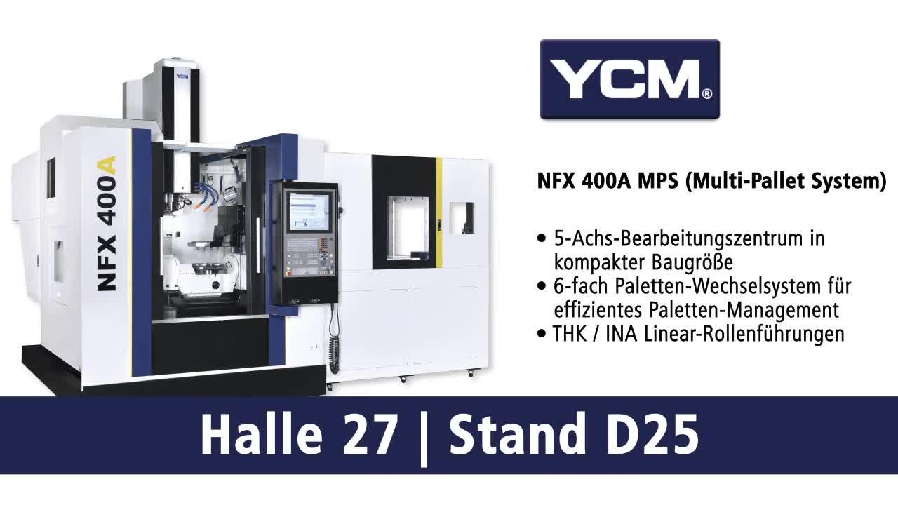 YCM NFX 400A – 5-Achsen Bearbeitungszentren