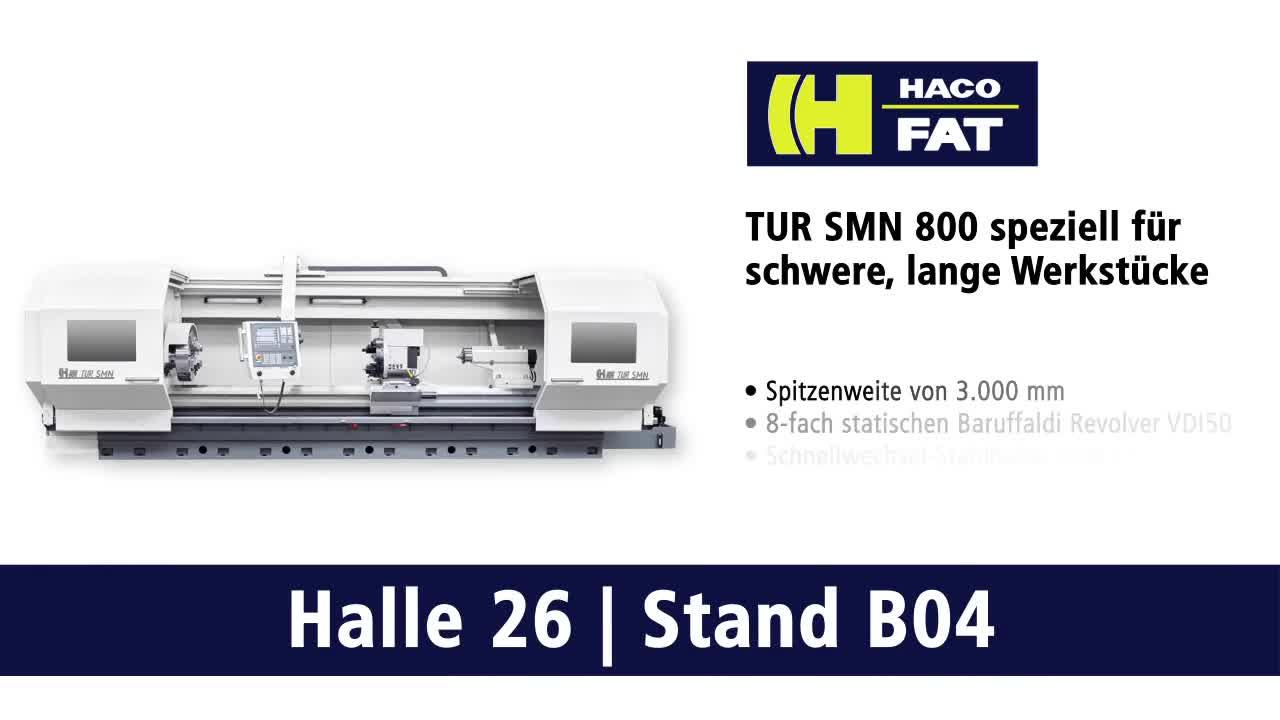 FAT/HACO TUR SMN800 – CNC-Zyklendrehmaschinen