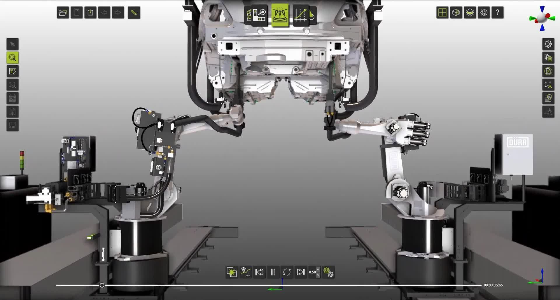 Seam Sealing with Dürr powered by FASTSUITE
