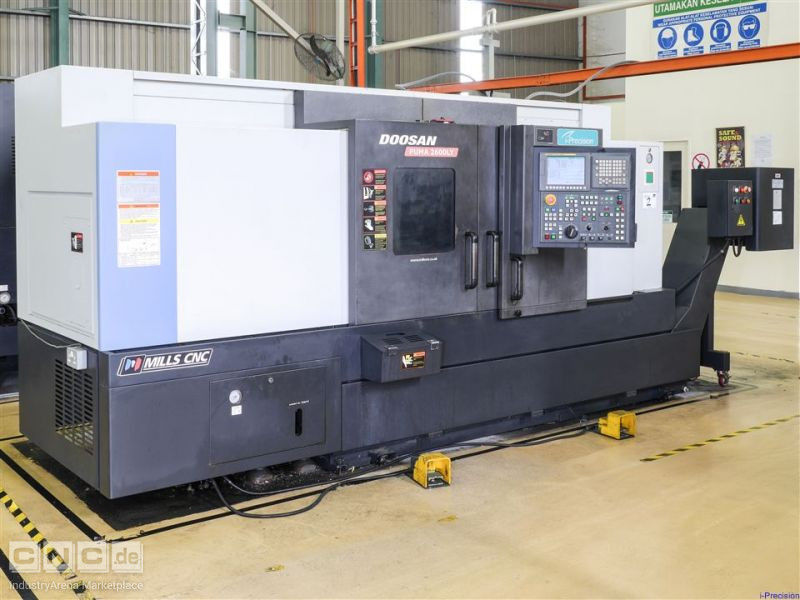 Doosan Puma 2600LY CNC Lathe (June 2011)