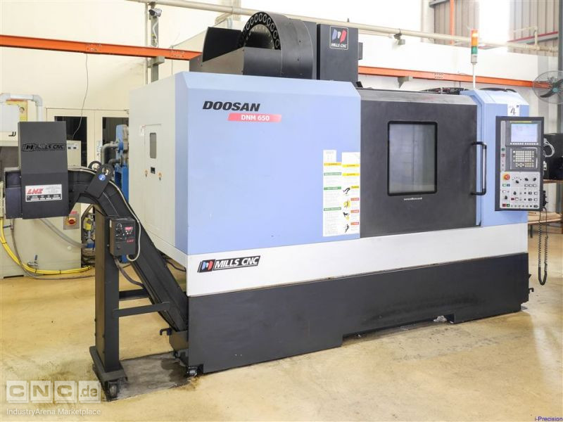 Doosan (June 2010) DNM 650 Vertical Machining Centre
