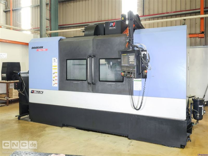 Doosan (June 2010) Mynx 7500 Vertical Machining Centre