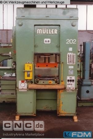 Double Column Drawing Press - Hydraulic FRITZ MUELLER S 40.11.1