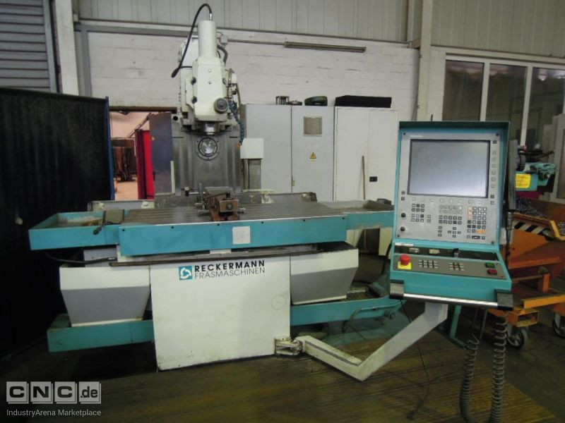 Bed Type Milling Machine - Universal RECKERMANN Beta 10 K