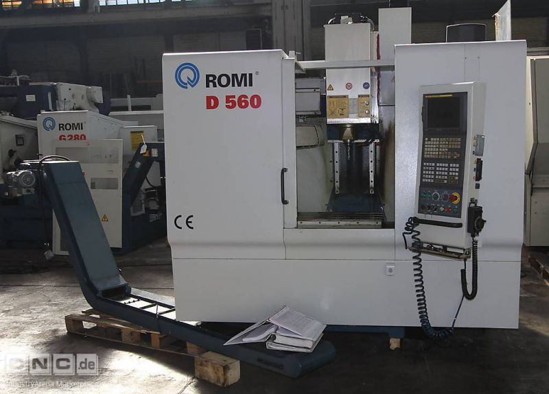 Vertical Machining Centre ROMI D 560