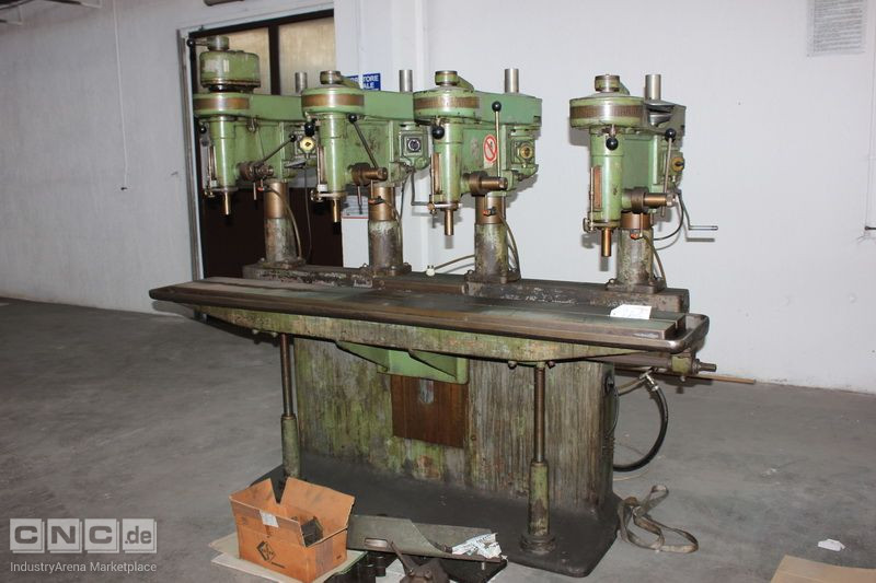 Boring machine CHRISTEN 8SF6