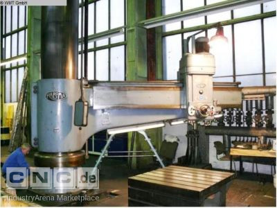 Radial Drill with Bed RABOMA RH 24 3000