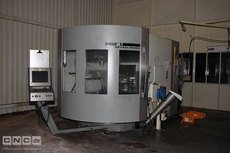 Universal Machining Centre DMG - DECKEL - MAHO DMU 80 TN