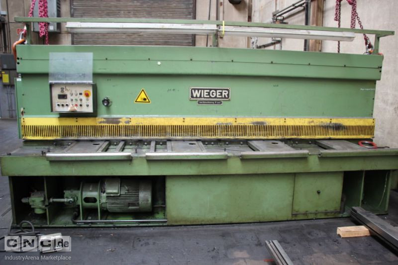 Guillotine Shear WIEGER SWHY 9/35