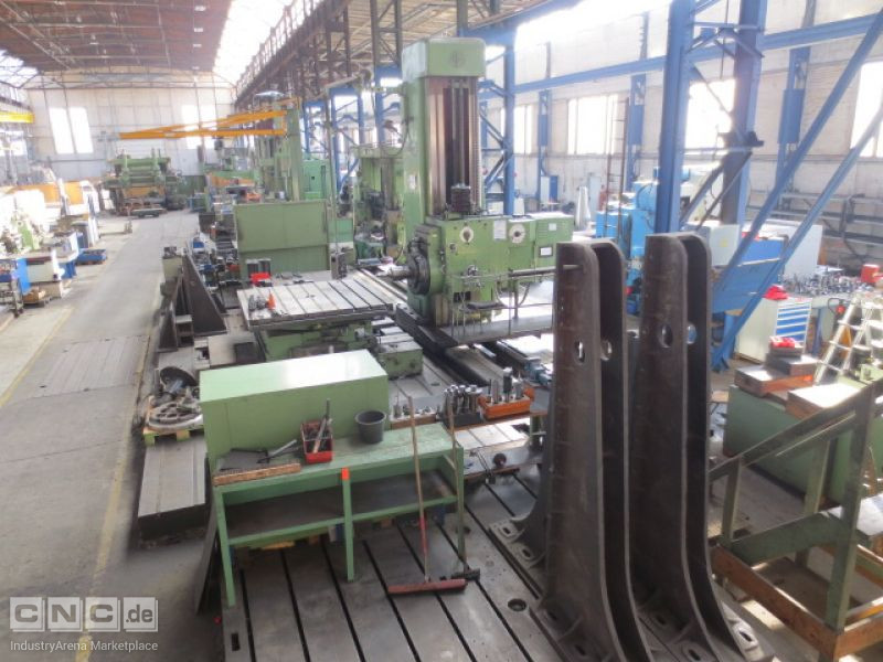 Droop Rein DV 125 Floor Type Boring Mill
