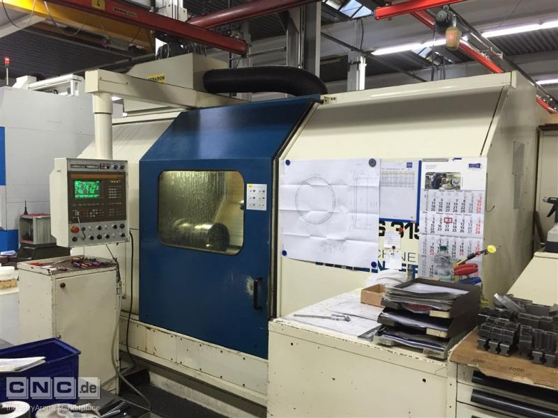 CNC Lathe - Inclined Bed Type MAGDEBURG S315