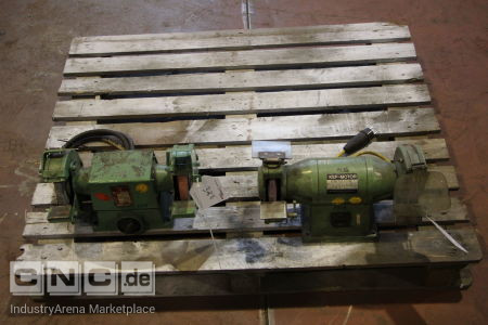Lot of Double Grinder Benches -