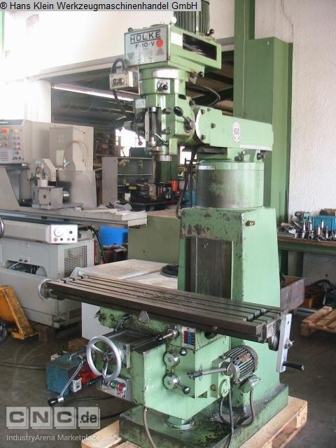 milling machine used