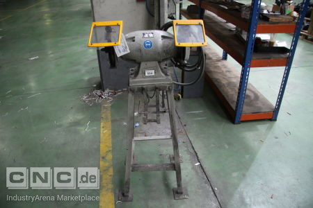 Double Bench Grinder on Stand -