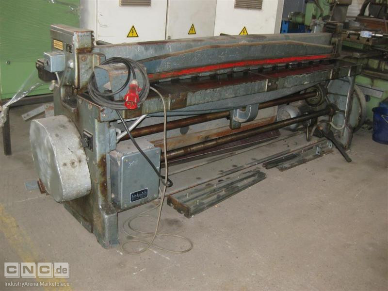 Plate Shear - Mechanical RAS 52/90