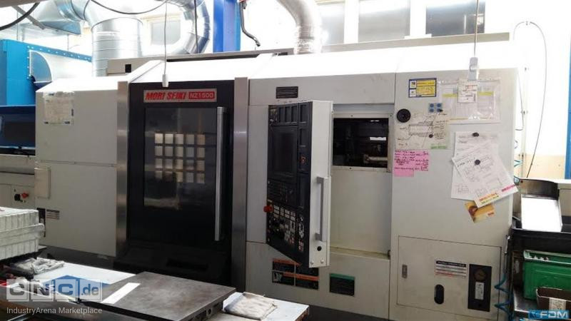 CNC Turning- and Milling Center MORI SEIKI NZ 1500 T2Y2