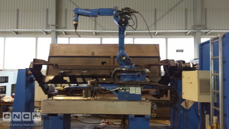 Cell with welding robot MOTOMAN YR FA 1900 N-B00