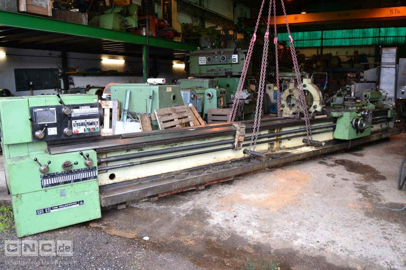 TOS SUS63 OF 6000 LATHE
