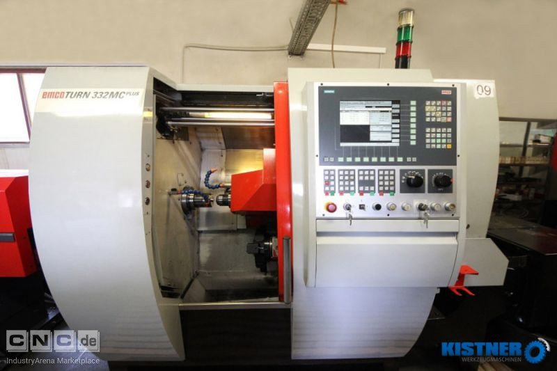 CNC - Drehautomat EMCO EMCOTURN 332 MC PLUS