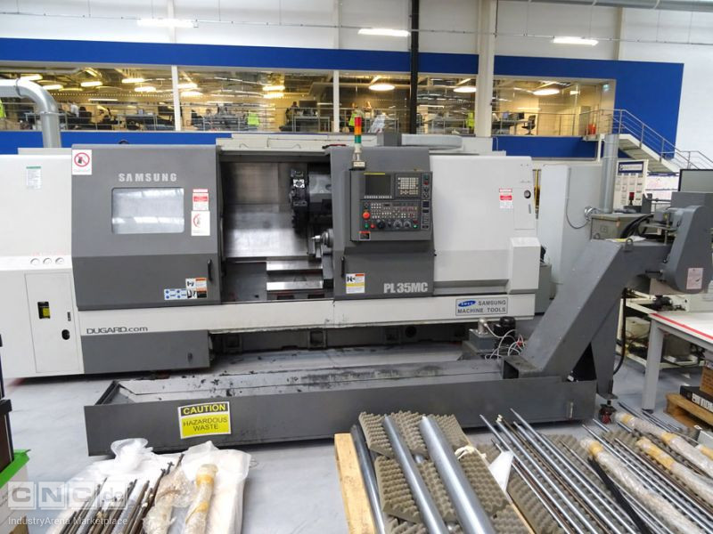CNC Drehmaschine SAMSUNG T CENTER PL 35 MC/1500