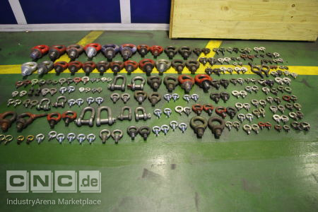 Lot of Ring Bolts and Shackles -