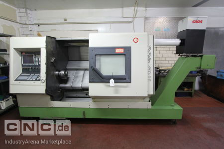 CNC Inclined Bed Lathe TRAUB TND 400
