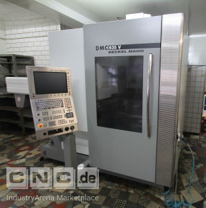 Vertical Machining Center DMG-DECKEL-MAHO DNC 635 V