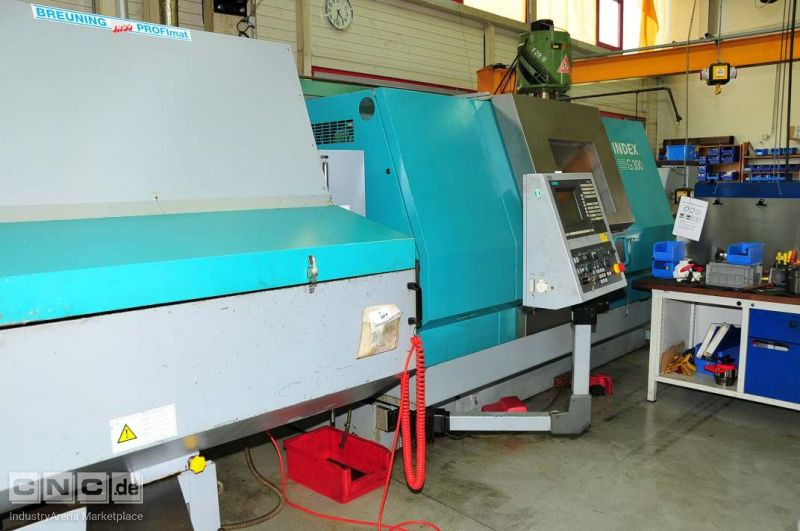 CNC turning and milling center/CNC-Dreh-Fräszentrum INDEX G 300