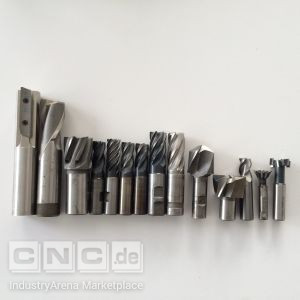 Lot of Various Milling Tools