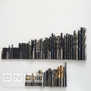 Lot of Various Drill Bits and Milling Tools