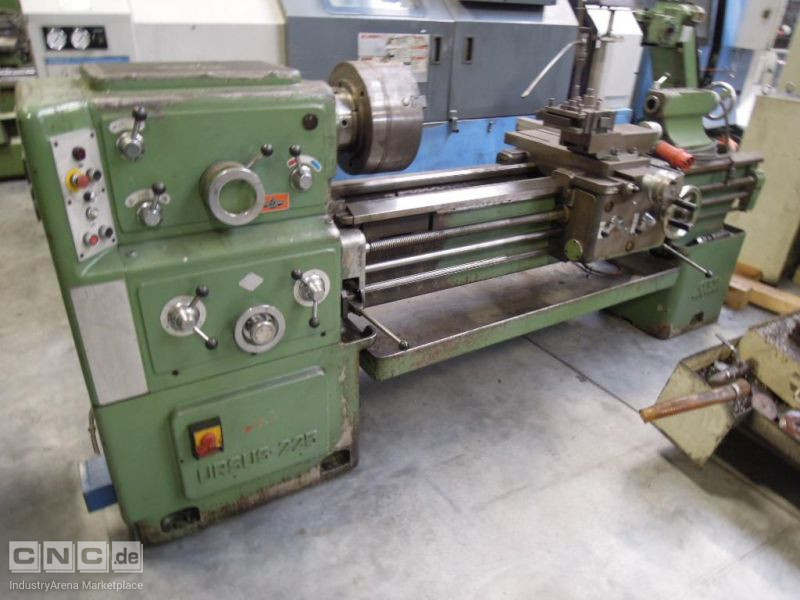 Center Lathe Ursus-CMT Mod. 225 x 1500/Digital