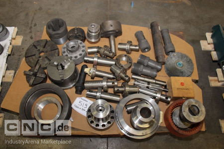 Lot of Tool Machine Accesories -