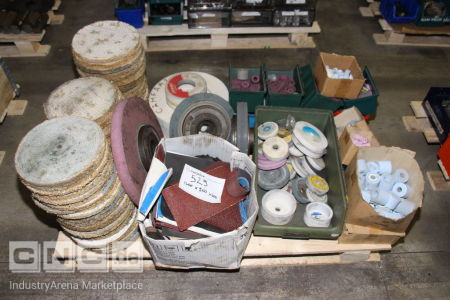 Lot of Grinding and Polishing Instruments -