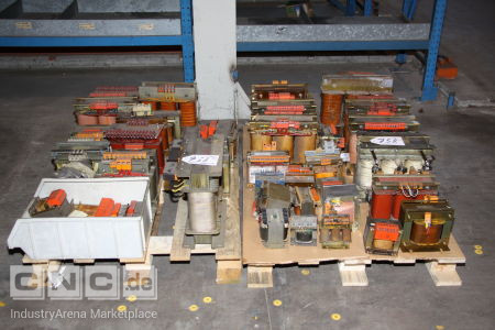2 Pallets Transformers/Inductors/Power Supplies -