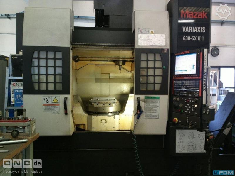 Machining Center - Universal MAZAK Variaxis 630 5X  II T