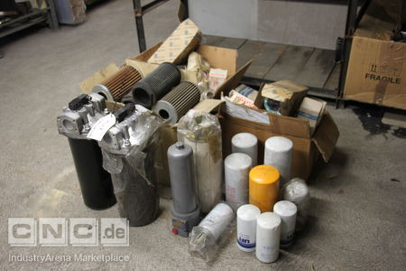 Lot of filter elements -