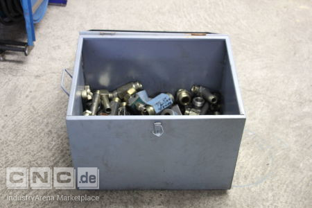 Box with Hydraulic and Pneumatic Elements -